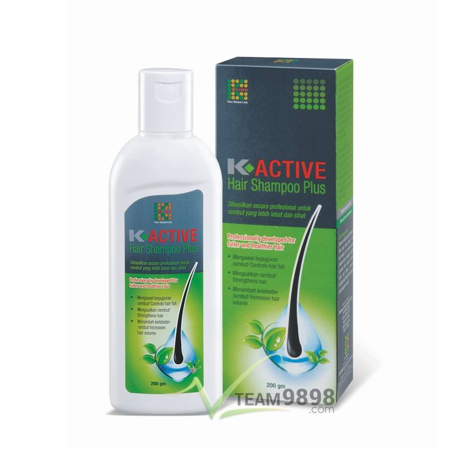 K-Active Hair Shampoo Plus