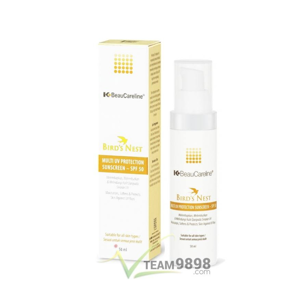 K-BeauCareline Multi UV Protection Sunscreen SPF 50