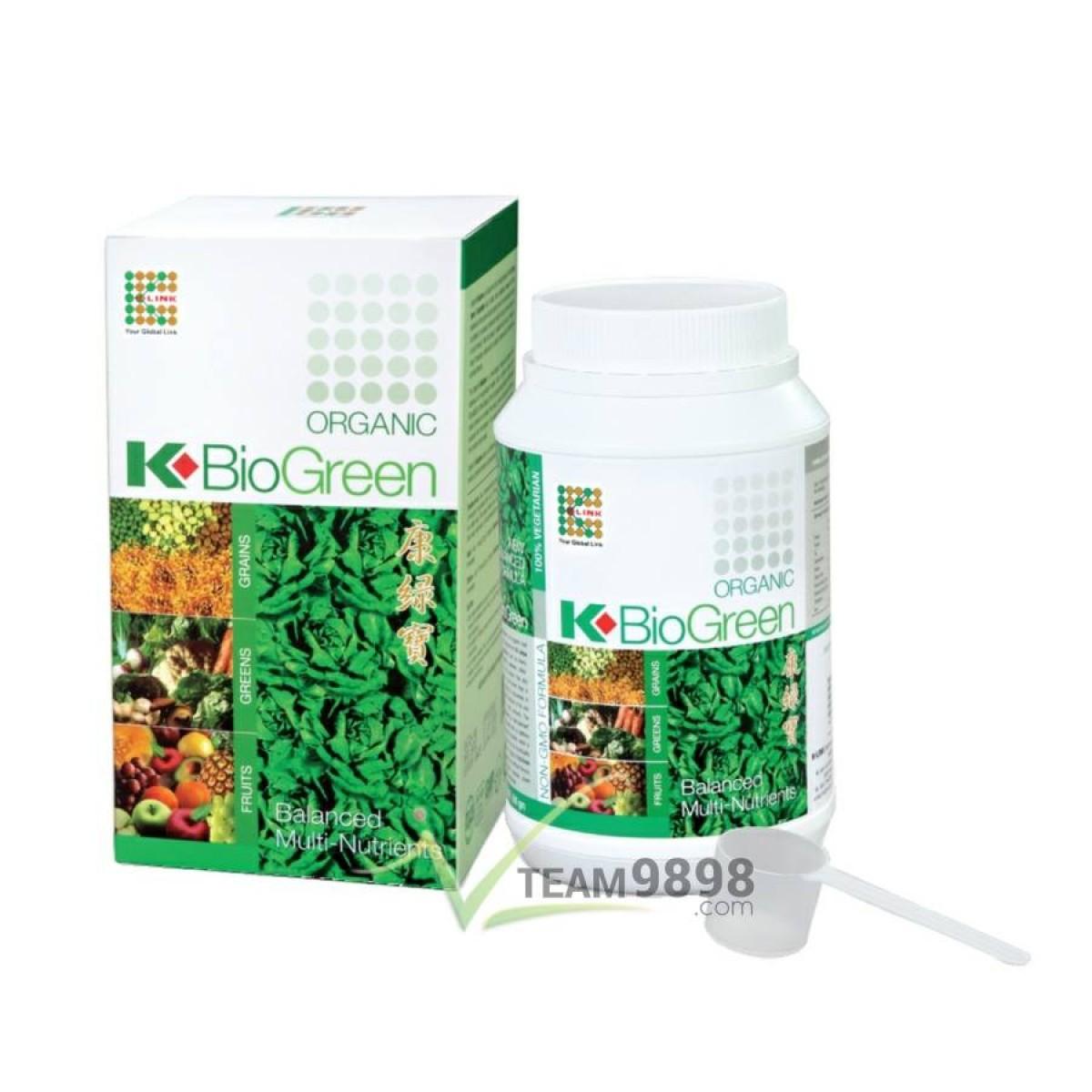 K-BioGreen Organic (500 grams)