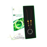 K-Energy Jade Ring Necklace
