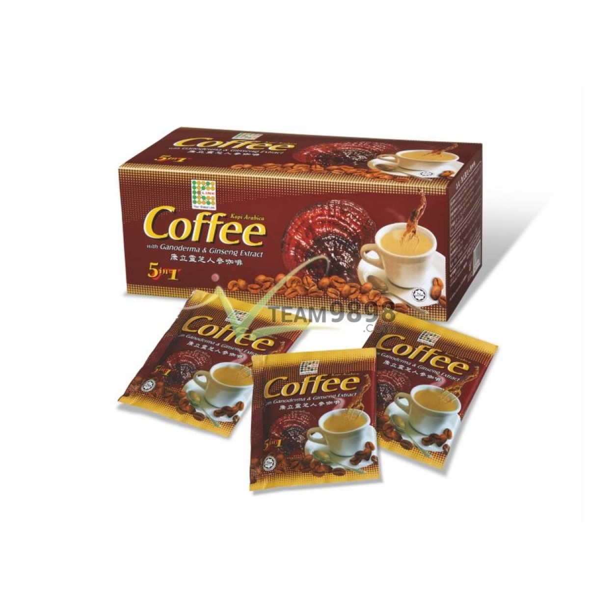 K-Lingzhi 5-in-1 Coffee